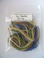 Picot Braids - Pack 2- 5m assorted