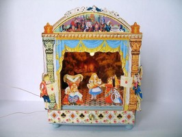 Alice in Wonderland Toy Theatre
