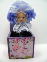 Rock A Bye Baby Jack-in-the-Box - Lavender