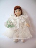 June Bride Toy Doll Kit - LAST ONE!