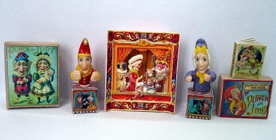 Set of Punch and Judy Kits
