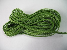 Picot Braid - Willow Green 3m